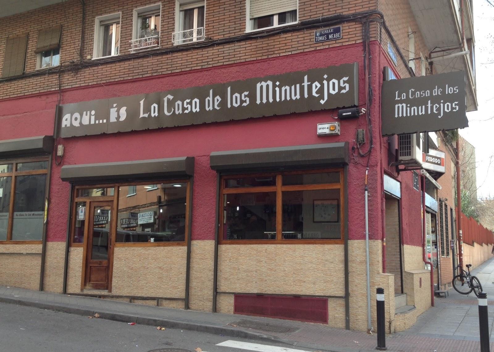 Mis tabernas favoritas la casa de los minutejos - Qcasa opiniones ...