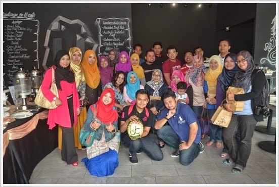Blogger Gathering di U-Cafe Wangsa Walk