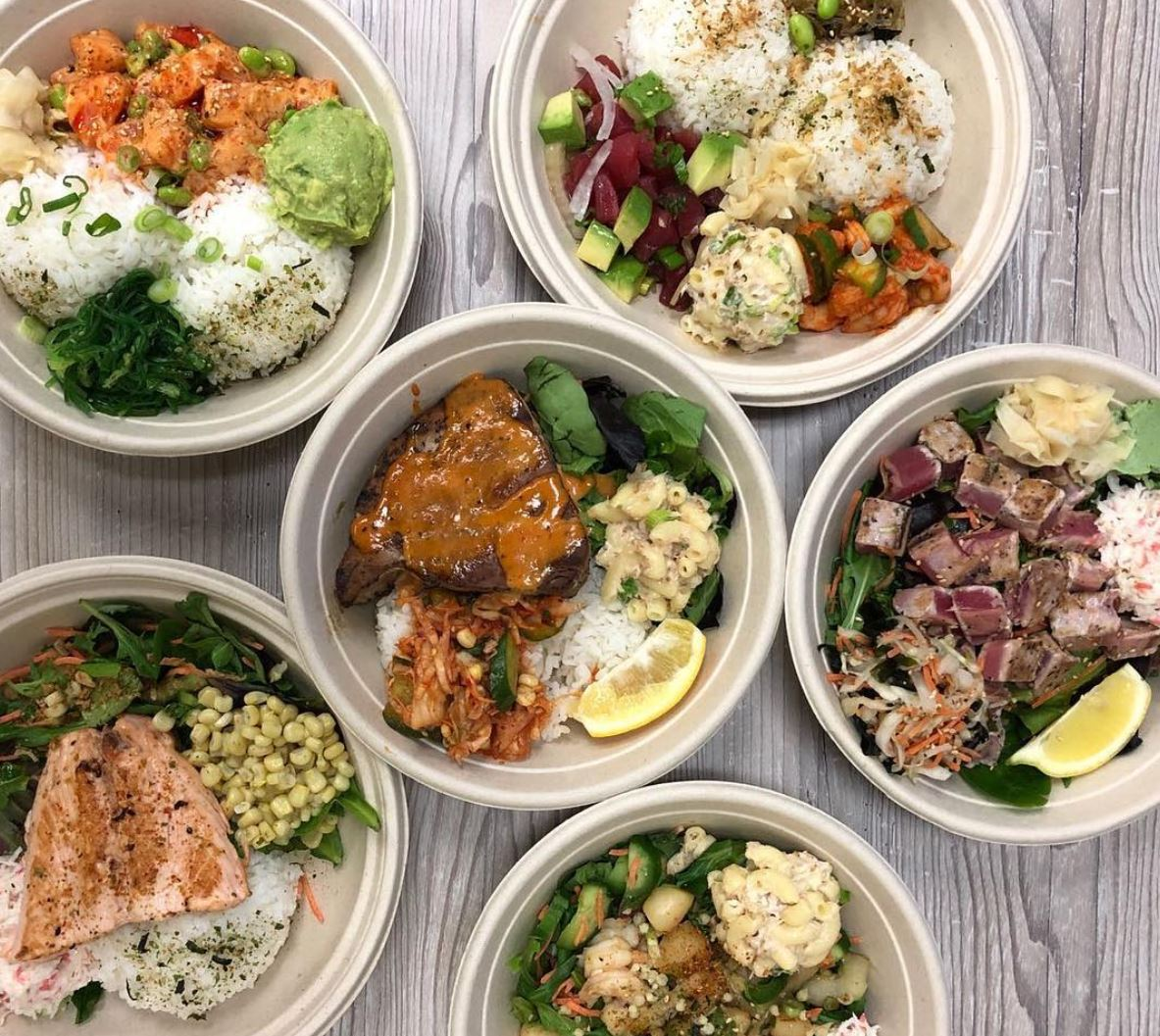 Mar. 29 - 30 | Bigeye Poke Grill Grand Opens in Placentia - 50% Off All Bowls