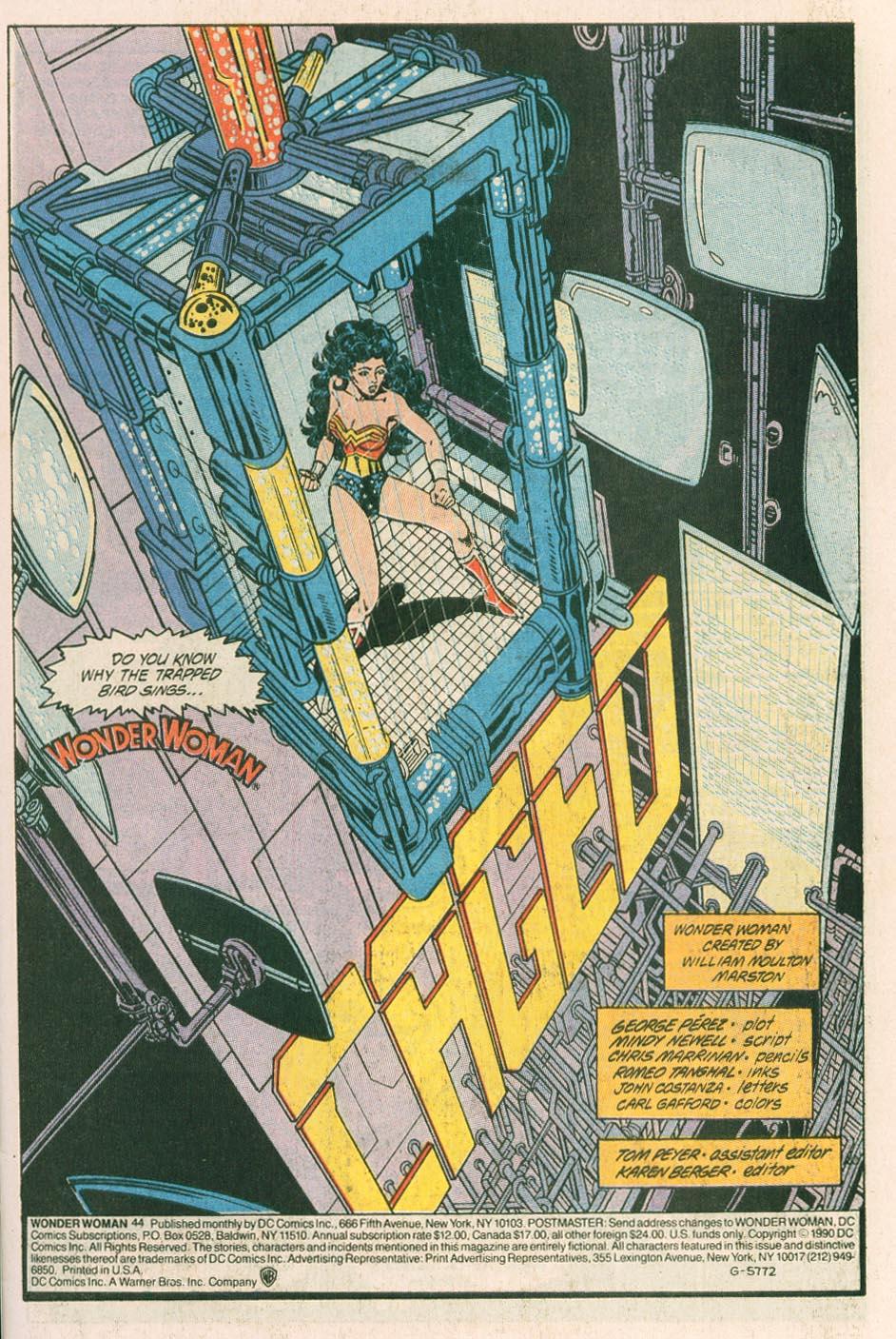 Read online Wonder Woman (1987) comic -  Issue #44 - 3