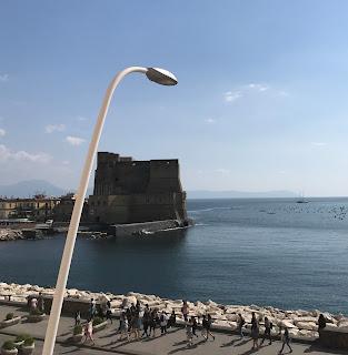 Napoli fuori dalle finestre del convegno SLI