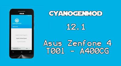 CyanogenMod Asus Zenfone 4