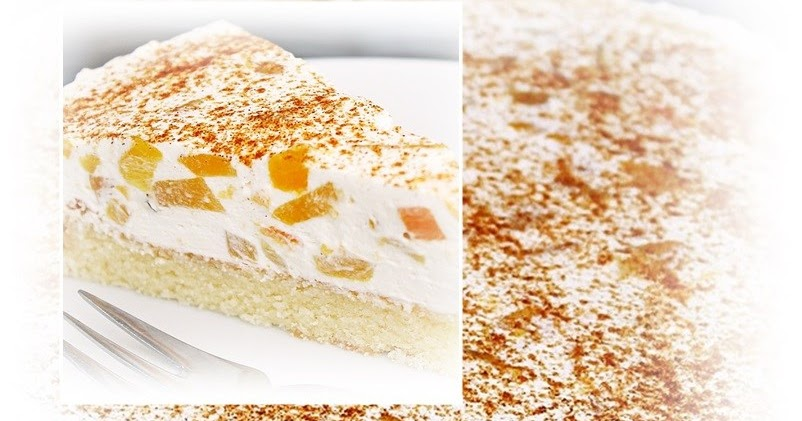 Pfirsich Schmand Torte Schmeckt Auch Mit Ananas Pfirsichen