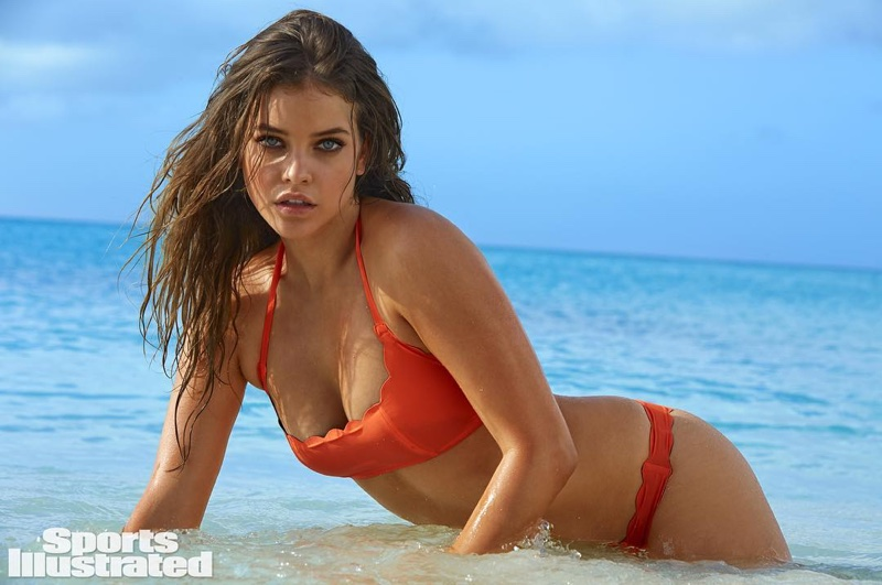 Barbara Palvin is one of Sports Illustrated Swimsuit Issue 2016's five Rookies