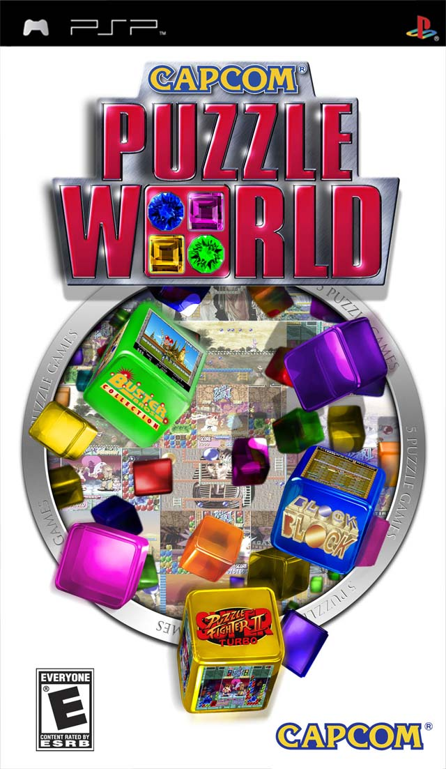 Capcom Puzzle World - PSP - ISO Download
