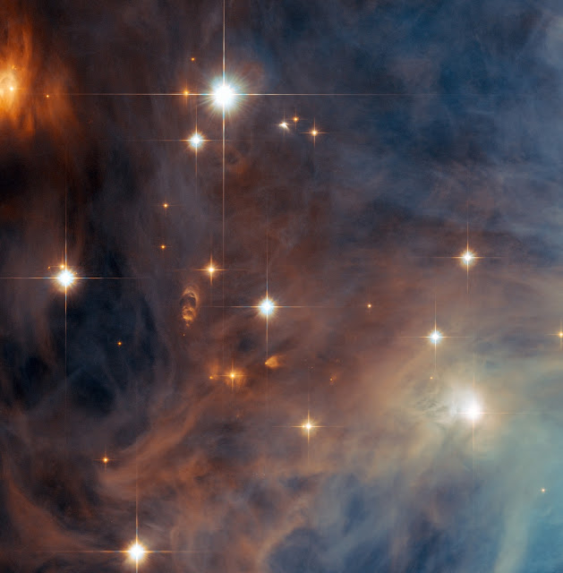 Star-Forming Region Messier 43