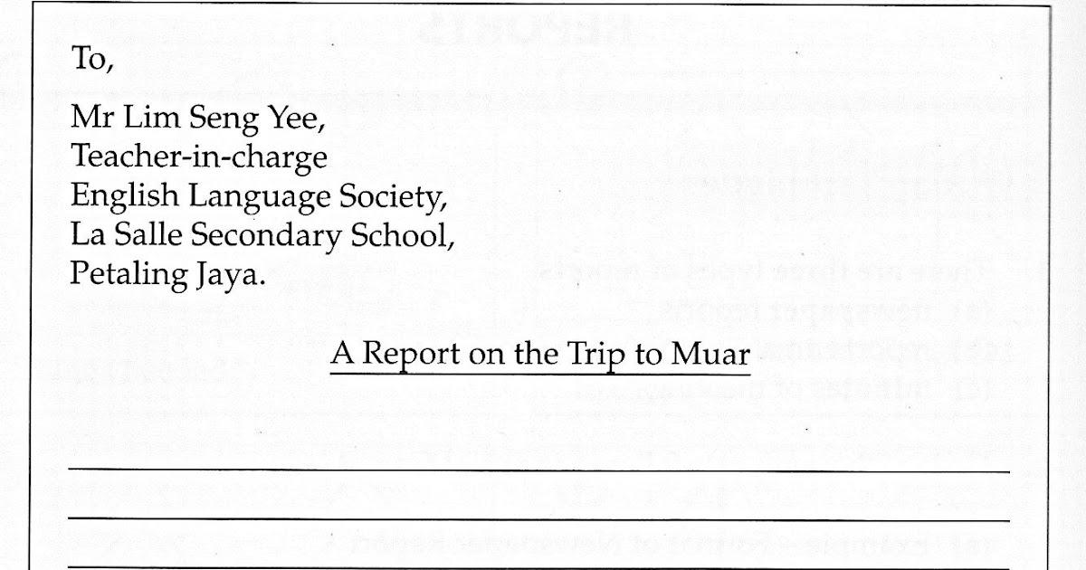 Essay informal letter pmr