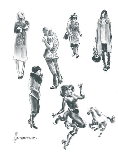 Gestures by Artmagenta