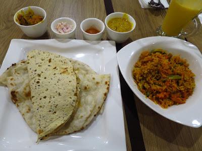 Nalan Restaurant, north indian thali