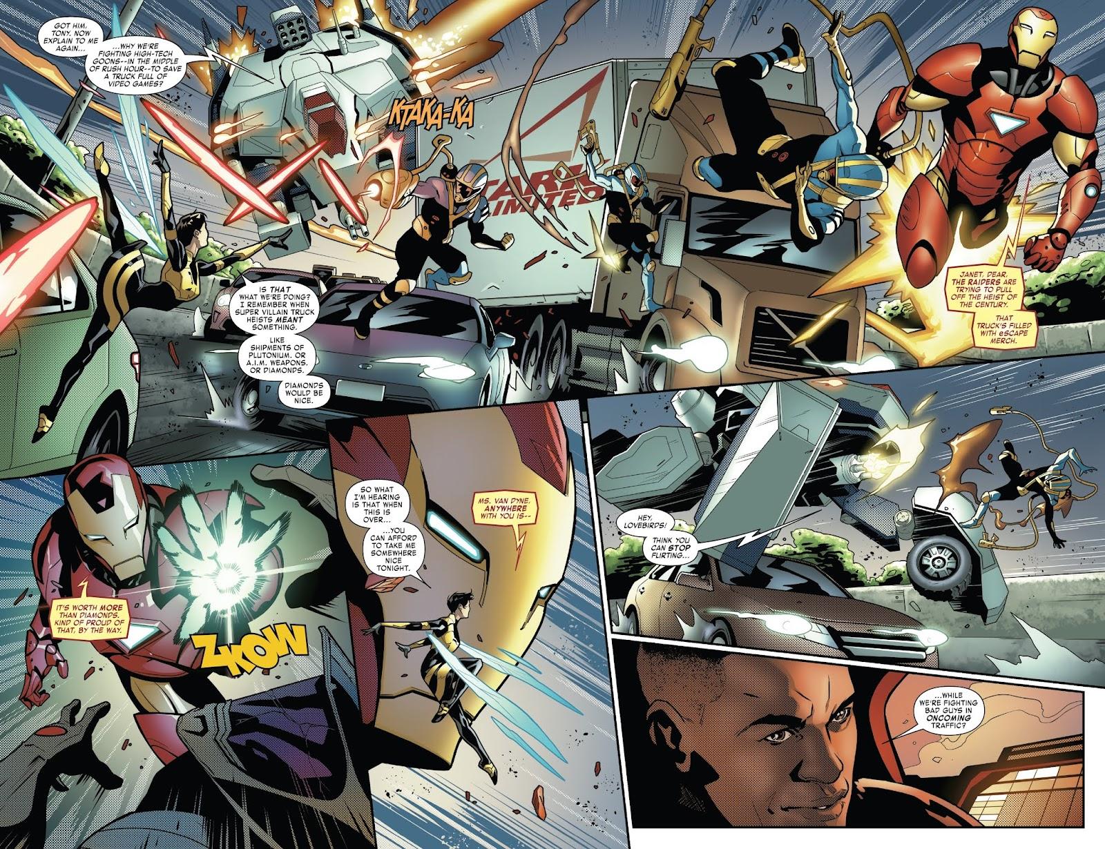 Read online Tony Stark: Iron Man comic -  Issue #6 - 5