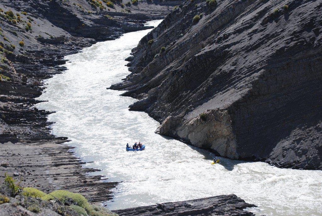 Rafting no Rio de Las Vueltas