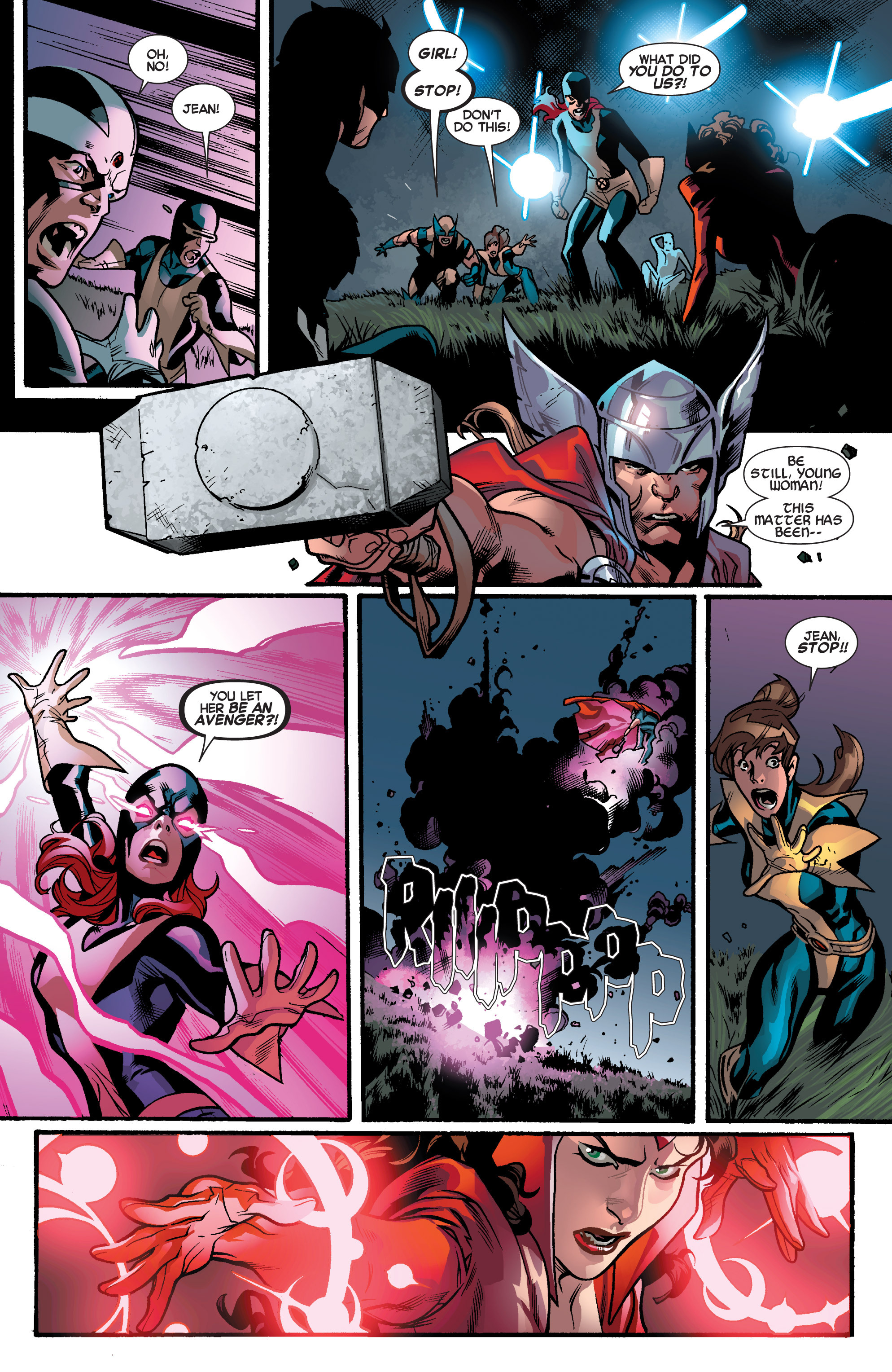 Read online All-New X-Men (2013) comic -  Issue # _Special - Out Of Their Depth - 34
