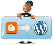 migrasi dari blogger ke wordpress