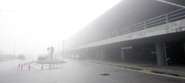 """Καθυστερήσεις λόγω ομίχλης στο """"Μακεδονία"""""""