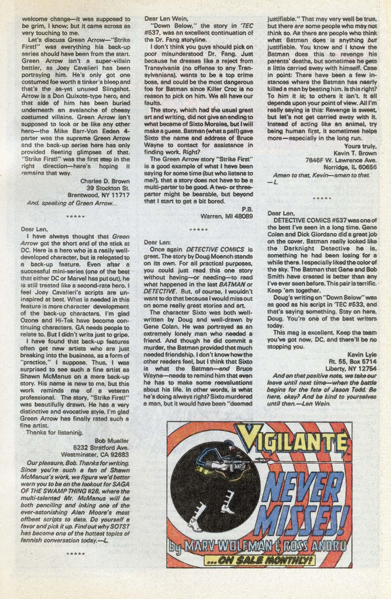 Detective Comics (1937) 541 Page 31