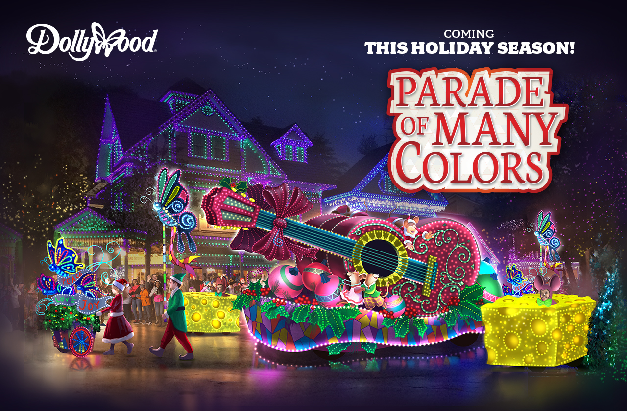 Dolly Parton Announces New Parade to Debut during Dollywood's ...