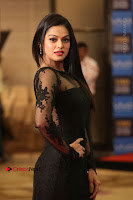 Actress Soniya Stills in Beautiful Black Long Dress at SIIMA Short Film Awards 2017 .COM 0071.JPG