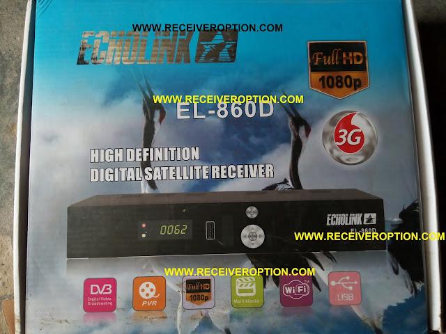 ECHOLINK EL-860D HD RECEIVER POWERVU KEY SOFTWARE