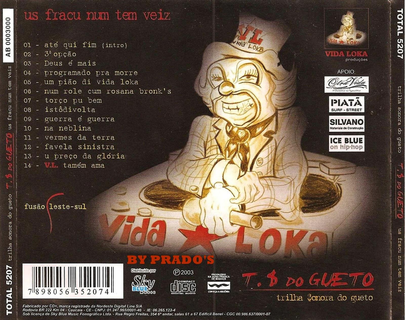cd trilha sonora do gueto