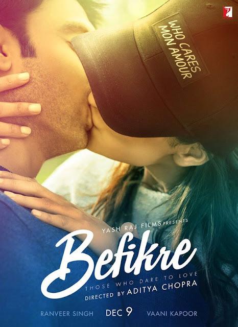 Ranveer Singh and Vaani Kapoor in the movie Befikre.