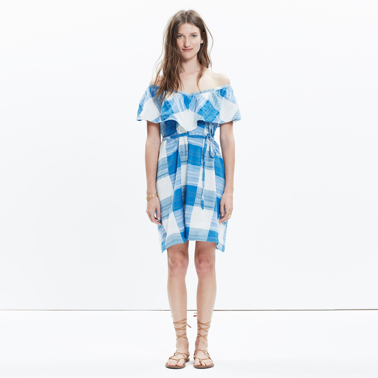 Ace&jig adriatic dress