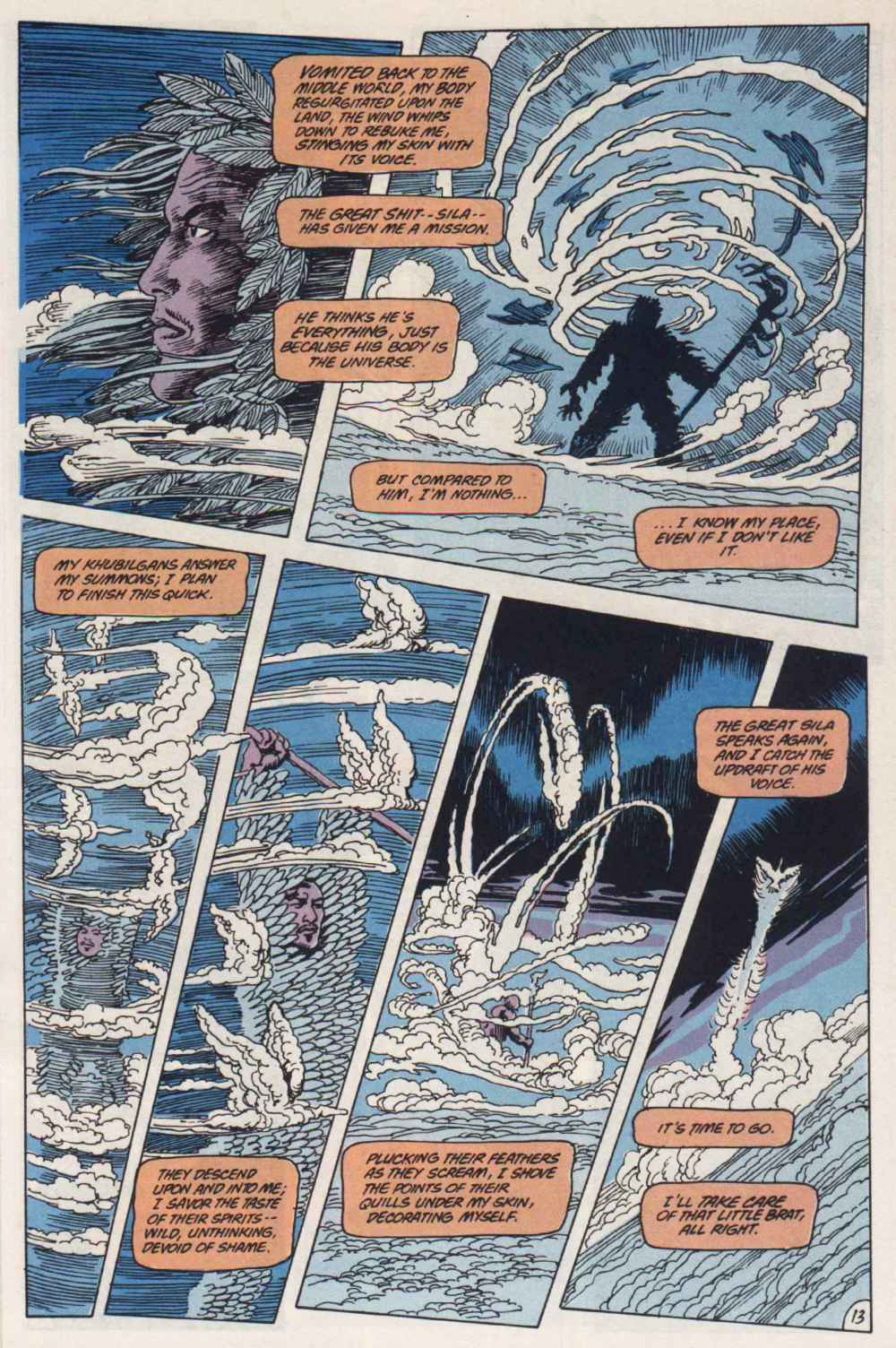 Swamp Thing (1982) Issue #91 #99 - English 13