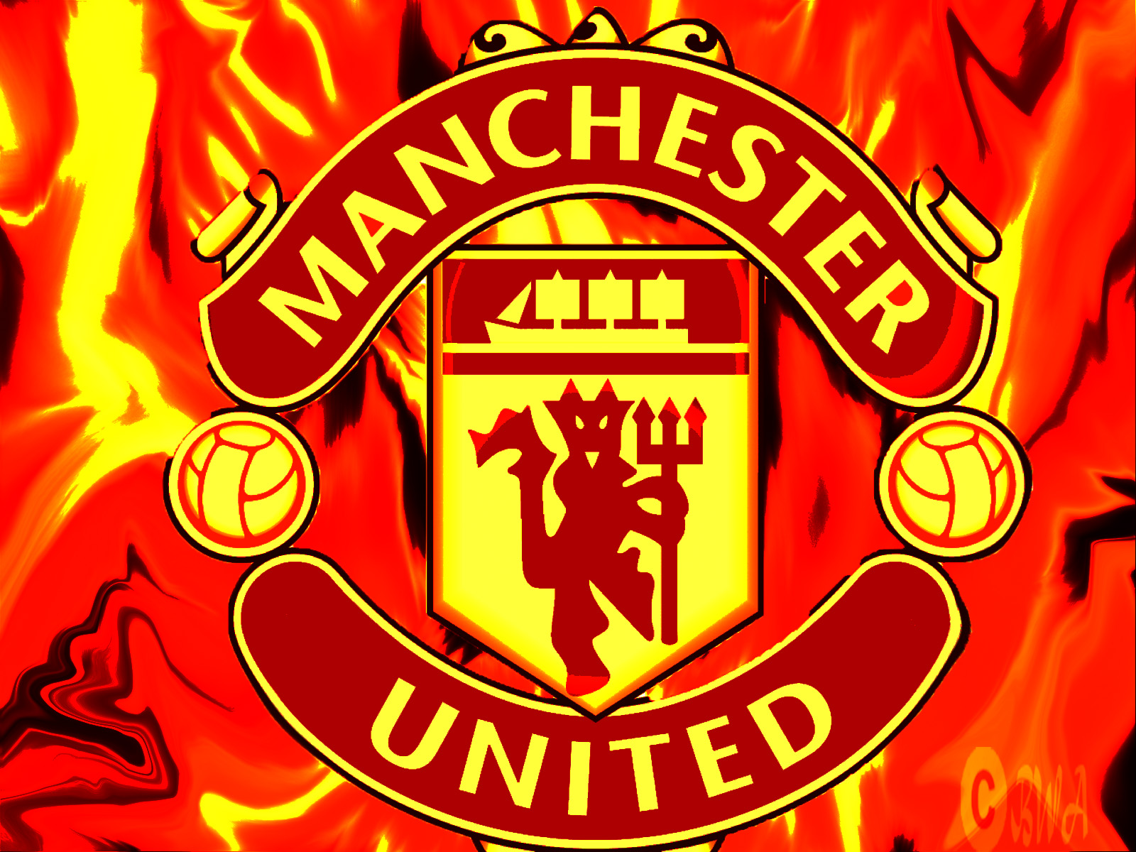 Football Manchester United Logo 2013 Hd Wallpapers