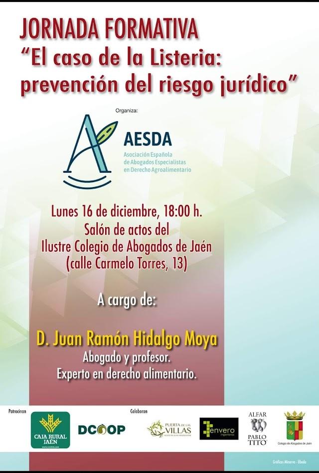El caso de la Listeria: prevención del riesgo jurídico (AESDA)