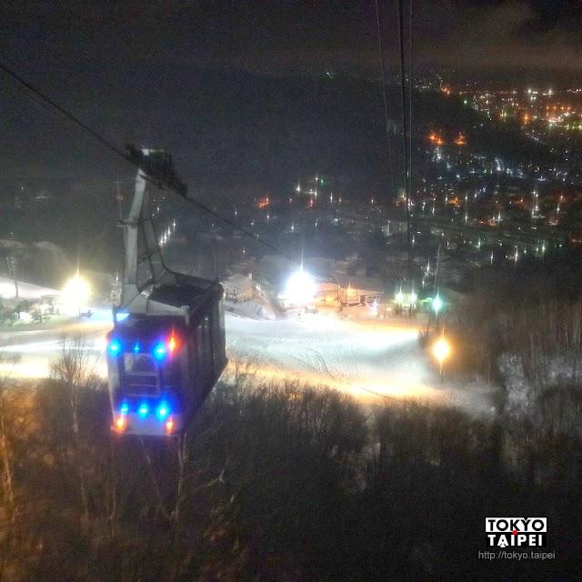 【天狗山】搭纜車上山看北海道三大夜景 摸摸天狗的長鼻子