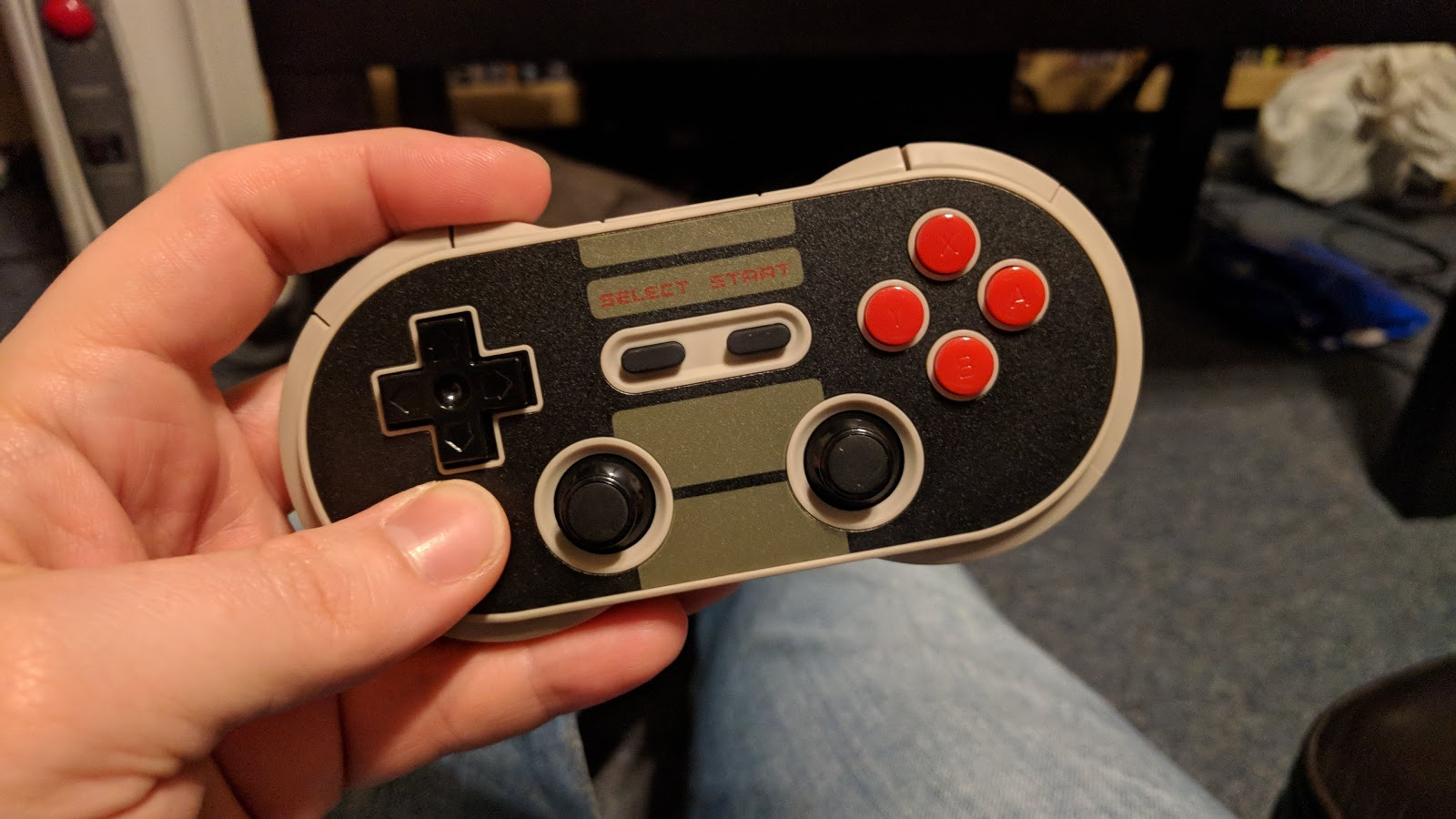 Pizslackers Blog Inspired Madman Or Complete Jackass March 2018 8bitdo Nes30 Pro Retro Bluetooth Controller For Switch Ios Android Pc Mac A Grade Game Ergo Can Handle Some Abuse Made Use With Practically Any And Even Todays Systems