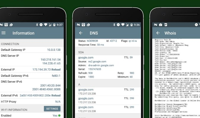 Aplikasi iPhone - Network Analyzer Lite