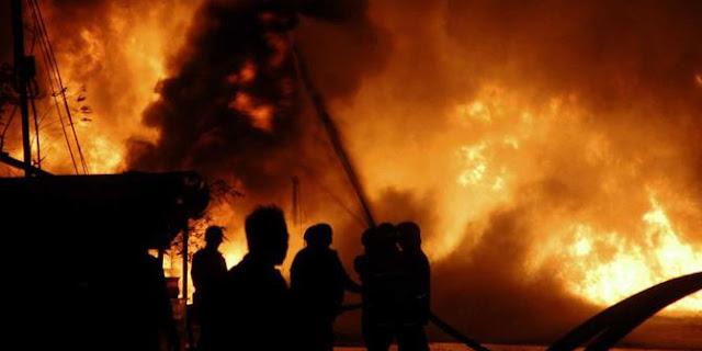 Gardu Induk Sunyaragi Terbakar, Listrik 10 Wilayah Cirebon Padam