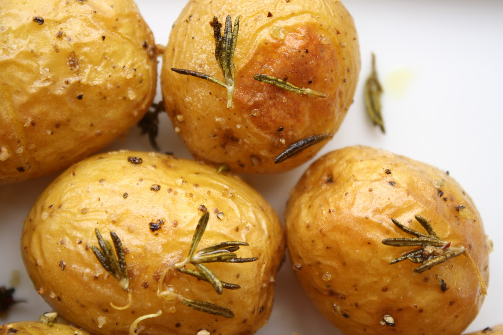 Cosmocookie Baked New Potatoes With Sea Salt And Rosemary