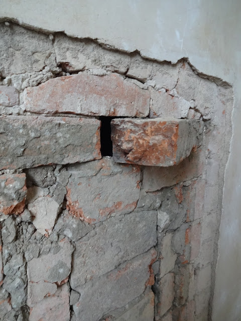 removing bricks from chimney