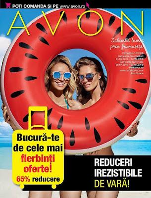 AVON Catalog-Brosura  №10 2018