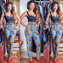 Simple And Beautiful Ankara High Waist Pant For Ladies