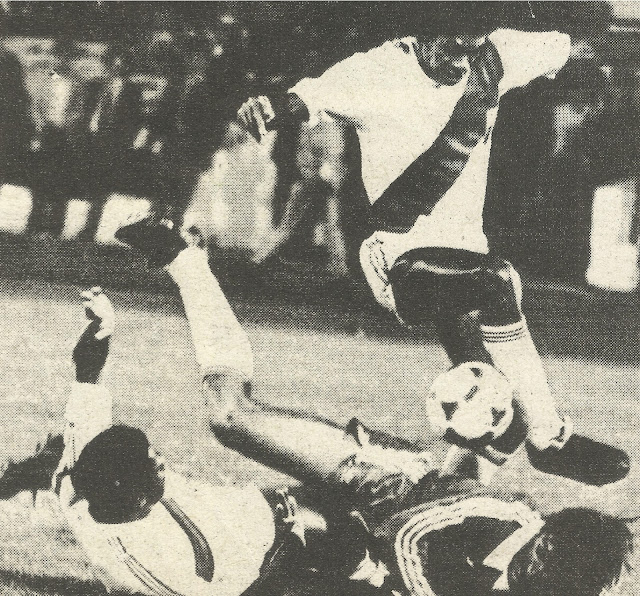 Perú y Chile en Copa del Pacífico 1982, 30 de marzo