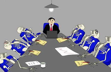 Le Marginal Magnifique Poème La Réunion s'ennuyer au boulot se faire chier comme un rat mort lors d'une réunion professionnelle s'ennuyer à mort à écouter l'intervenant décrocher complètement et s'en battre royalement les couilles