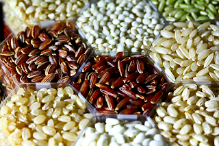 African rice, whose scientific name is Oryza glaberrima, is unique to Africa
