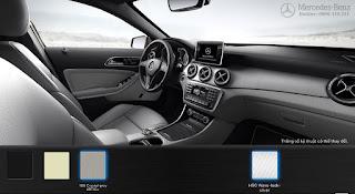 Nội thất Mercedes GLA 200 2017 màu Vàng Sahara 105