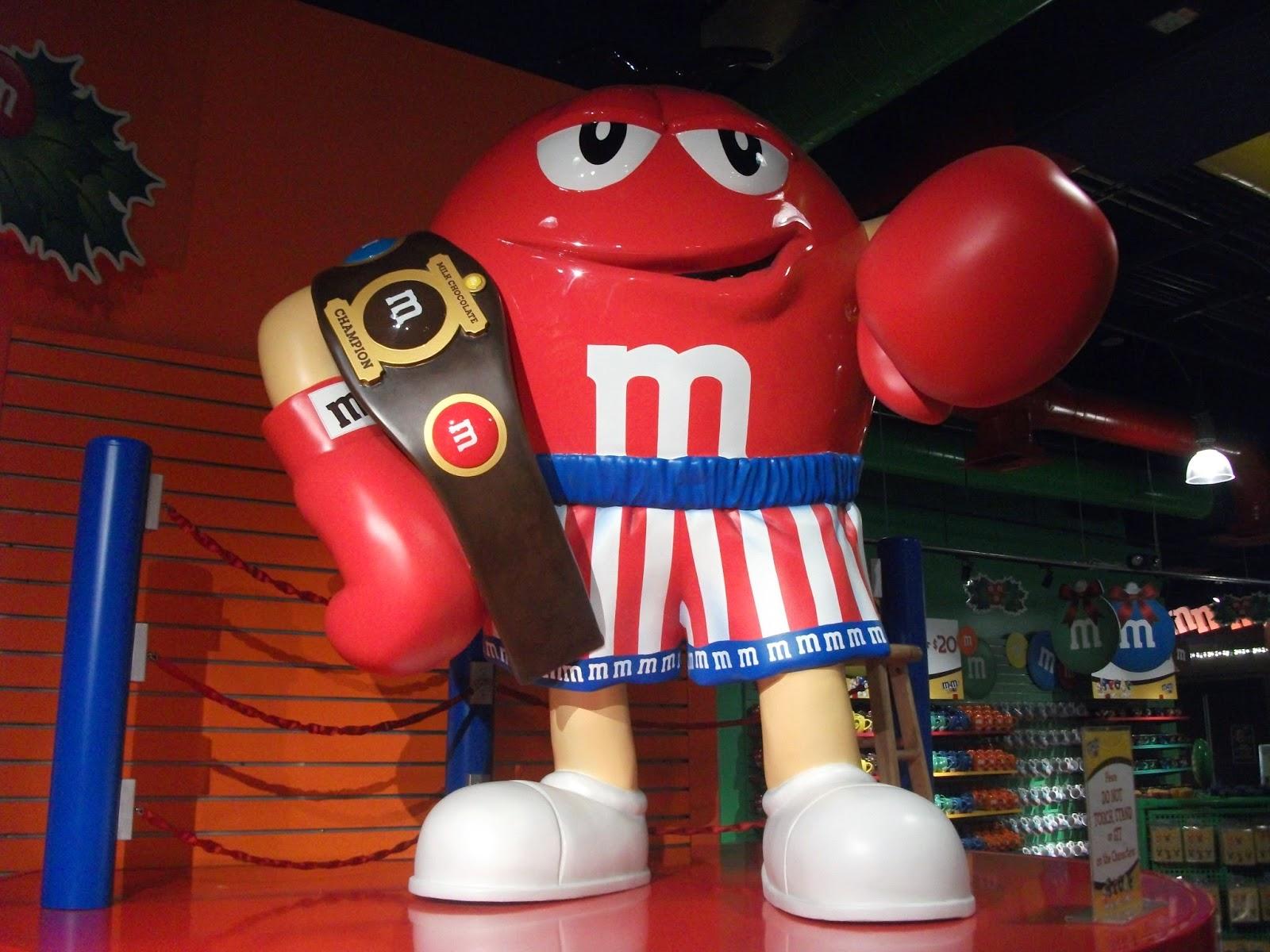 Riesiger M&M in Las Vegas