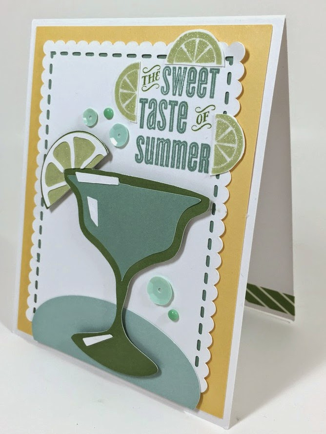 Cricut Sweet Summer Card