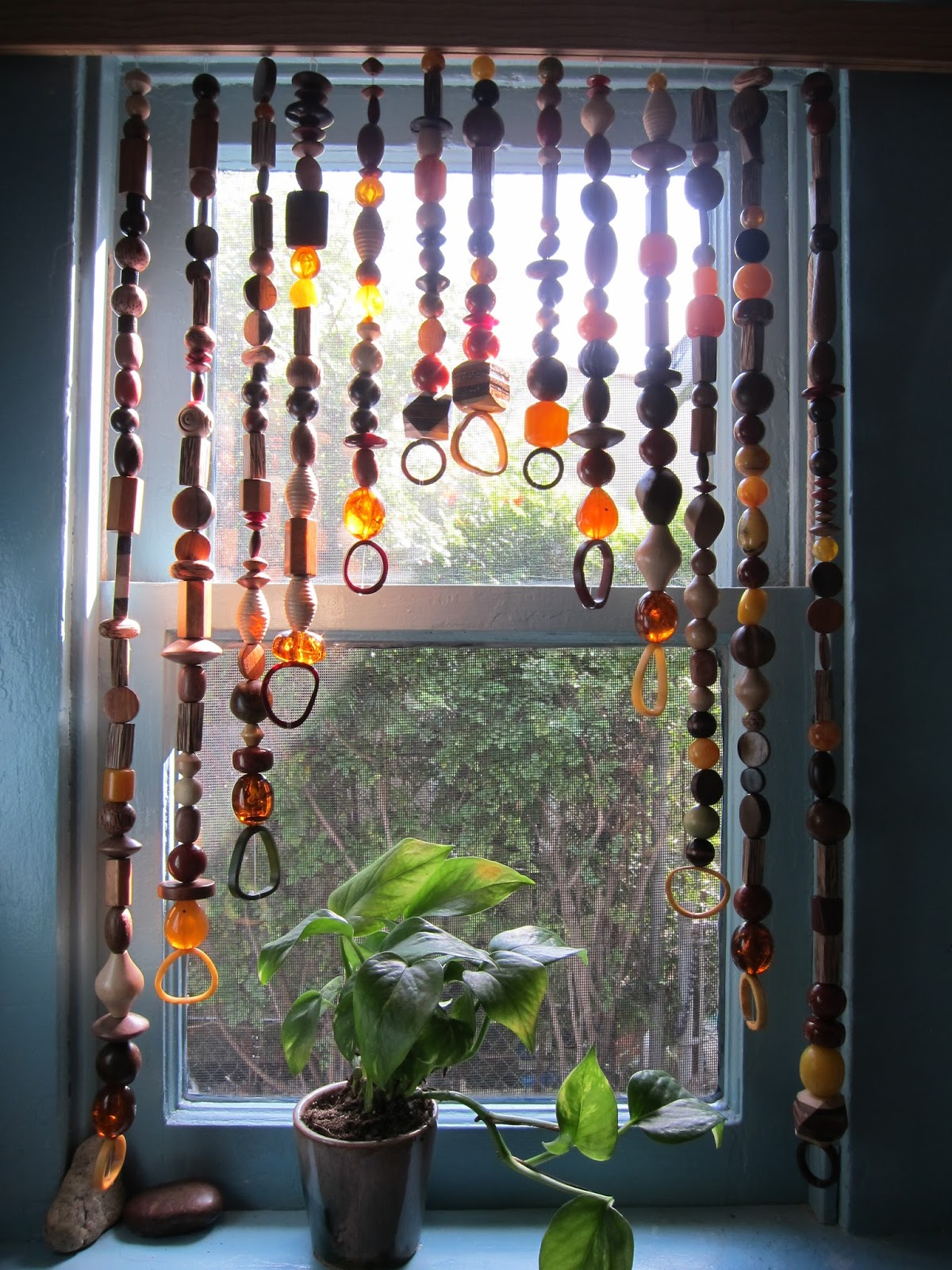 Closet Beads Curtains Sonya Nimri Behind The Beaded Curtain