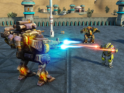 Mech Robot War 2050 v1.3 Mod Apk Terbaru Unlimited Money + Gold