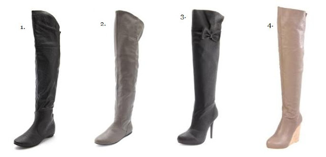 Winterize with Thigh High Boots