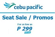 299php and 599php Cheapest Airfares for Domestic and International Flights