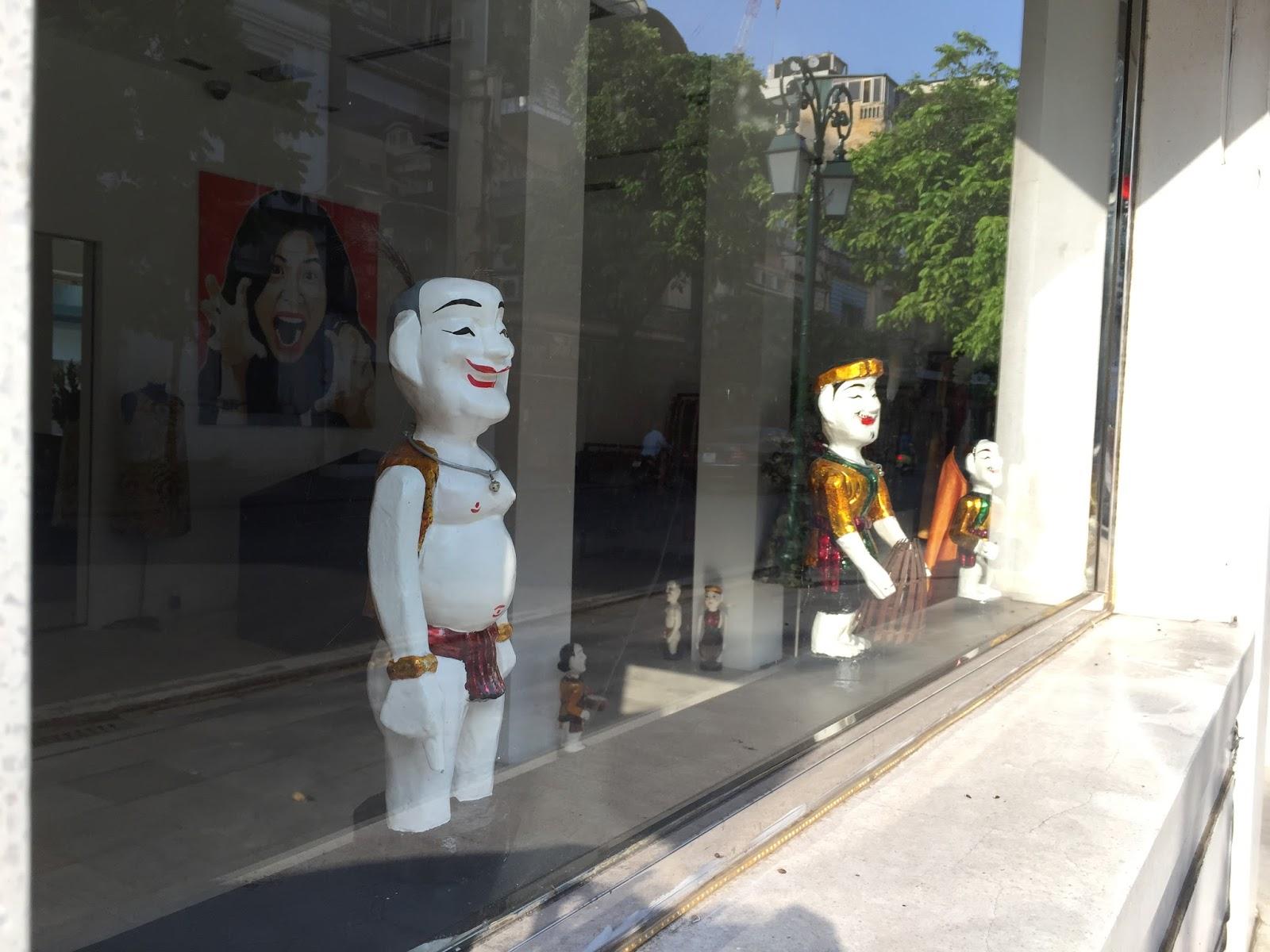 water-puppet 水上人形劇