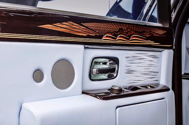 ロールスロイス、第7世代「ファントム」が生産終了!最後の一台は航海をテーマにした特別仕様に。