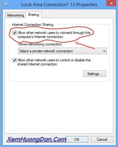 Huong dan phat wifi tren laptop
