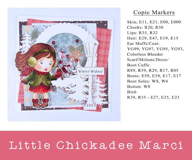 Heather's Hobbie Haven - Little Chickadee Marci Card Kit